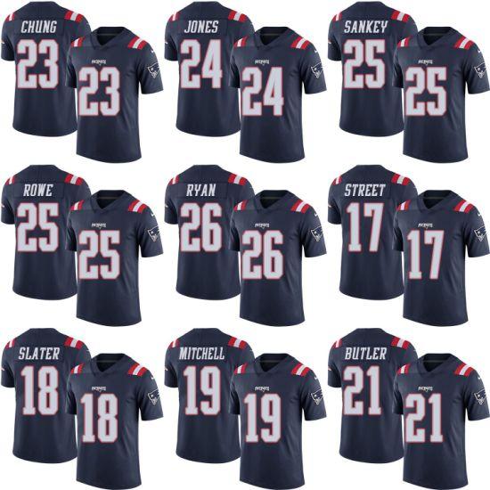 [Hot Item] Navy Patriots Devin Street Matthew Slater Malcolm Mitchell Football Jerseys