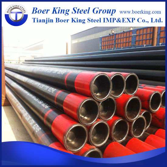 Premium Connection API 5CT K55 Casing Pipe with Vam Top Pup Joints for OCTG