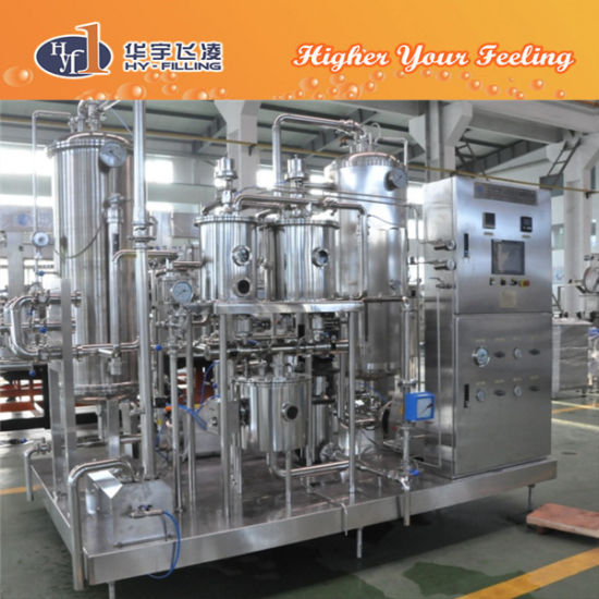 Hy-Filling Low Content CSD Drink Mixer pictures & photos
