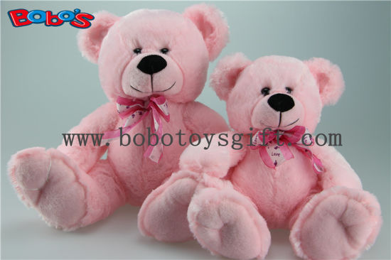 Pink Holiday Gifts Teddy Bear with Heart Necklace for Valentine′s Day pictures & photos