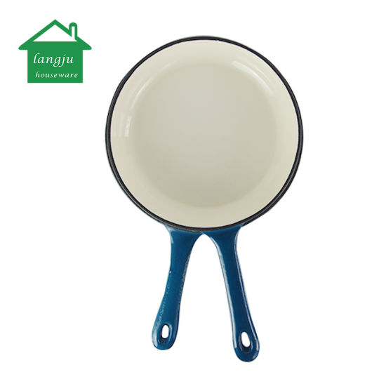 Enameled Cast Iron 2-in-1 Combo Cooker with Dutch Oven&Skillet