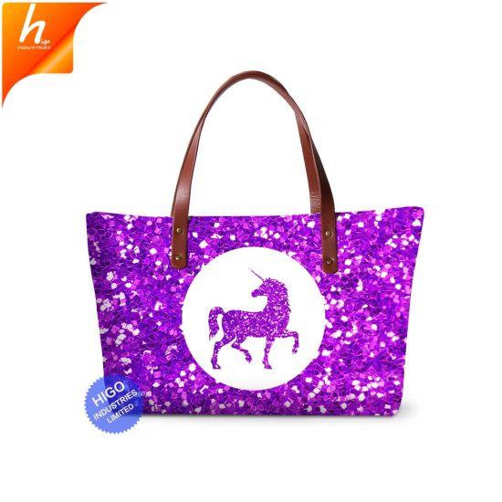 Top 10 Handbag Brands Tote Bag For Women Violet Unicorn