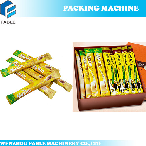 Continuous Powder Sachet Heat Sealing Packing Machine (FB-100P) pictures & photos