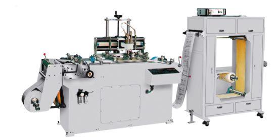 Automatic PVC OPP Dacron Reel Type Silk Screen Printing Machine
