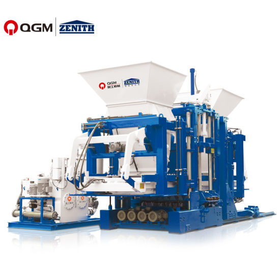 Germany Automatic/Paving Stone/Hollow Hydraulic/Building Material/Concrete Cement/Block Machine/Brick Making Machine Construction