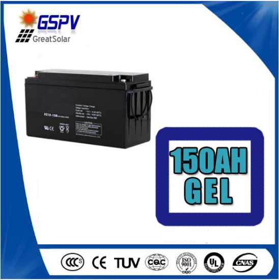 150ah12V Solar Battery Gel Hot Sale in Europe pictures & photos