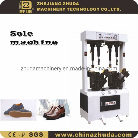 Zhuda Universal Hydraulic Sole Pressing Machinery for Sports Shoes
