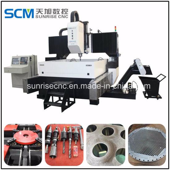 Air Cooling High Precision CNC Boiler Drilling Machine