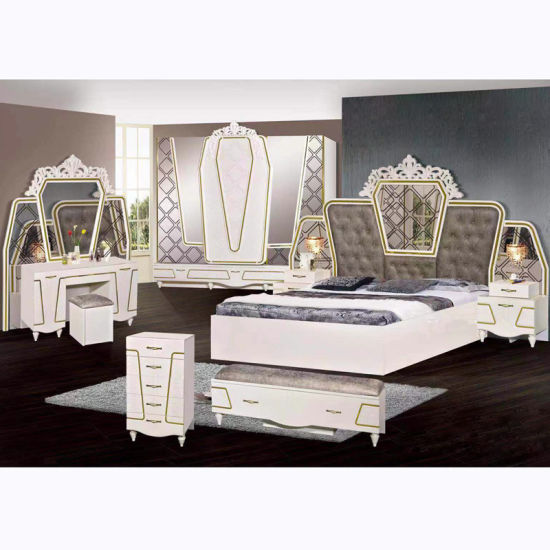 China Classic Bedroom Furniture Sets with King Size Bed (B) - China ...