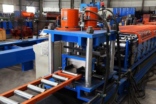 4mm Thickness C Purlin Roll Forming Machine with Taiwan Quality