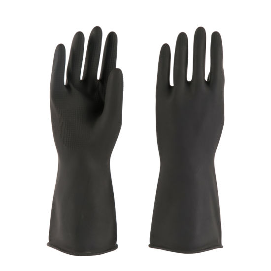 75g Industrial Latex Rubber Gloves for Working Safety Gloves
