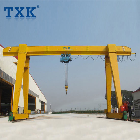 10t 15t Mh Model Single Beam Automated Gantry Crane with Two Cantilevers Manufacturer