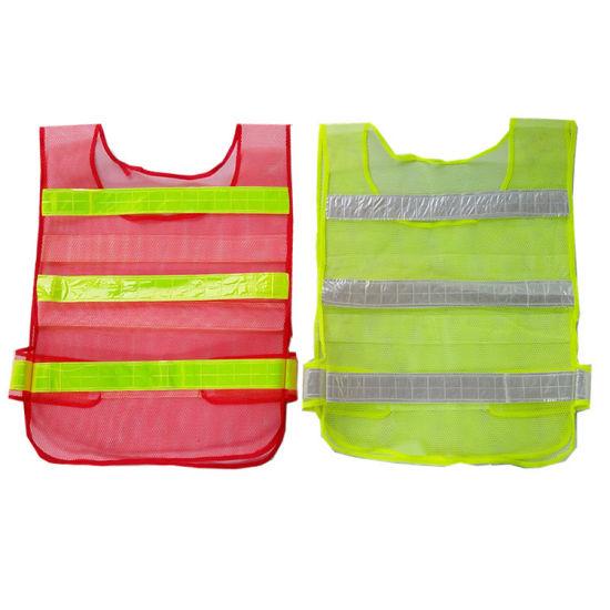 Cheap Price High Visibility Fluorescent Reflective Vest