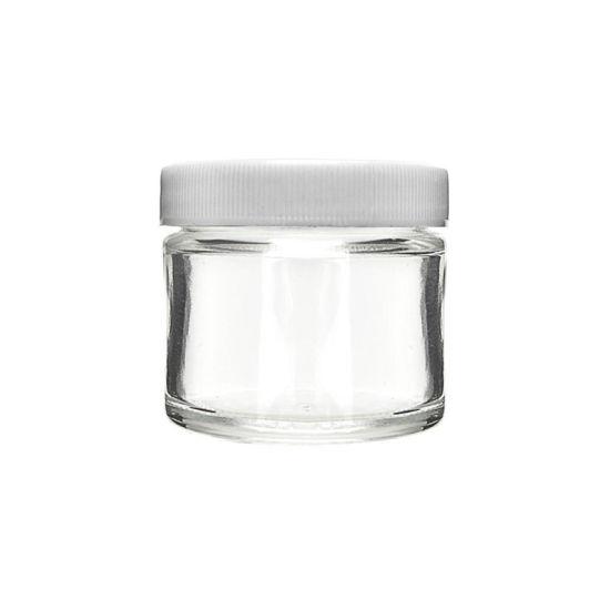 Glass Screw Top Flower Jar 2oz
