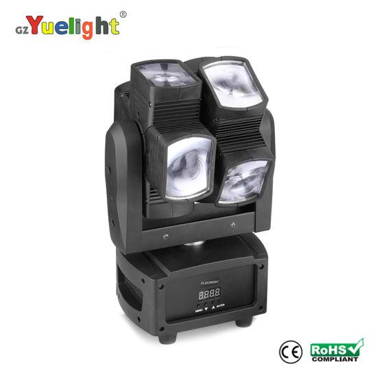Full Color LED Tube 8*10W 4in1 Mini Moving Head Disco Light