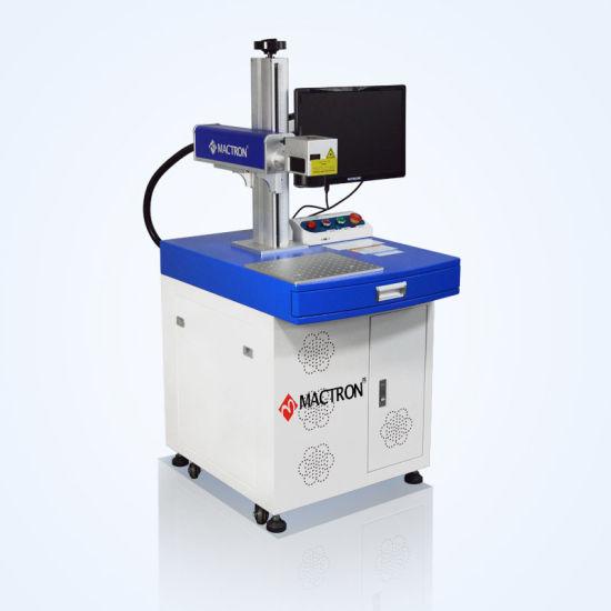 30X30cm Work Area Fiber Laser Engraving Machine for Printer and Glass Mark