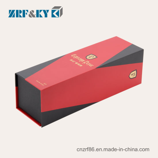 Custom Cardboard/Corrugated/Greyboard Paper Gift Packaging Red Wine/Claret/Liquor/Whisky/Champagne Boxes