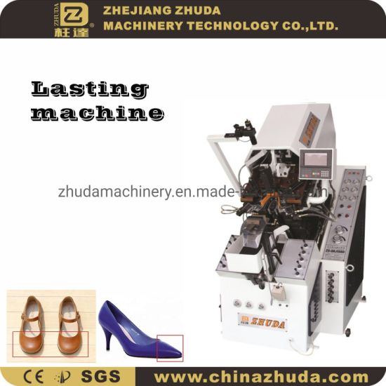Automatic Hydraulic 9 Pincers Toe Lasting Shoes Making Machine