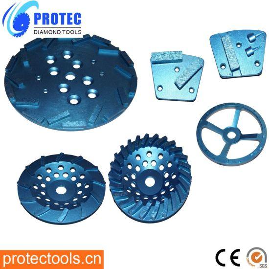HTC Metal Grinding Pads/HTC Diamond Polishing Pads/PCD Grinding Pads/Polishing Tools/Grinding Pad/Grinding Wheel/Grinding Disc/Polishing Tool/Polishing Pads