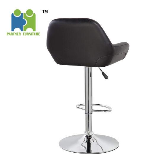 Strange Marrow Pu Leather Modern Design Swivel Adjustable Seat Height Home Kitchen Bar Stool Chair Machost Co Dining Chair Design Ideas Machostcouk