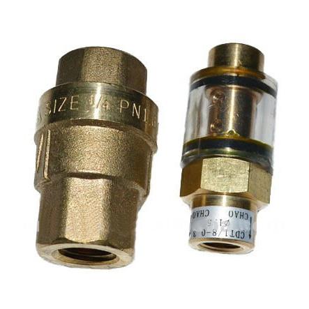 Copper Screw Air Compressor Parts 049905 Oil Check Valve