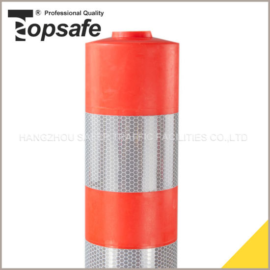 Hi Quality Flexible Post with 3PCS Reflective Tape (S-1403) pictures & photos