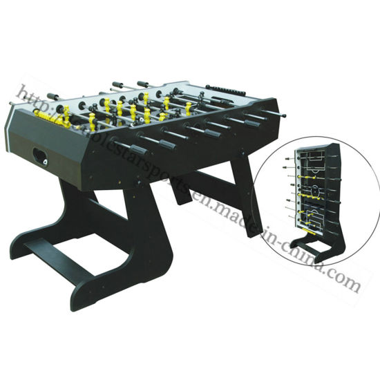 Convenient Foldable Foosball Table Soccer Game Table For Sale