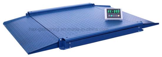 Wholesale 3t Pallet Floor Scale with Ramp Digital Platform Weighing Scale Platfom Floor Scale