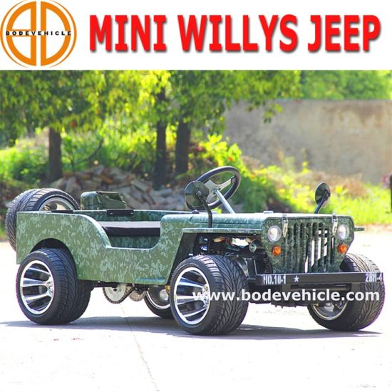 Bode Quanlity Assured New for Kids 110cc/150cc Willys Mini Willys Jeep 4 Wheeler Motorcycle for Sale
