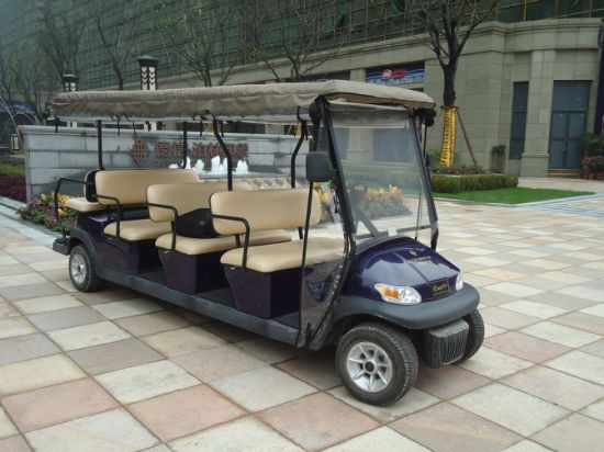 Cheap 11 Passengers Electric Golf Cart for Sale pictures & photos