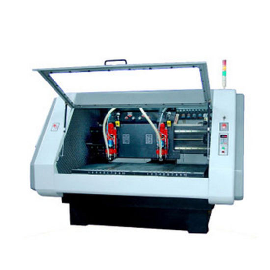 New Condition Automatic Tool Change 2 Spindles PCB CNC Drilling Routing Machine pictures & photos