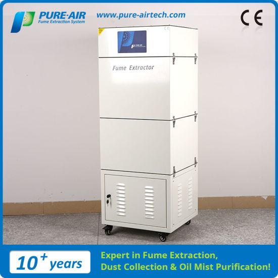 Pure-Air Dust Collector for Wave Soldering Machine/Reflow Soldering Oven (ES-1500FS)