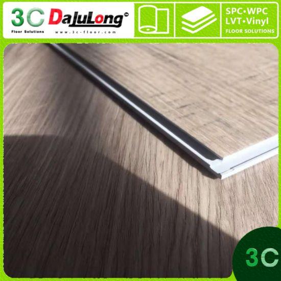 China High Quality Fireproof Material Spc Click Vinyl Flooring