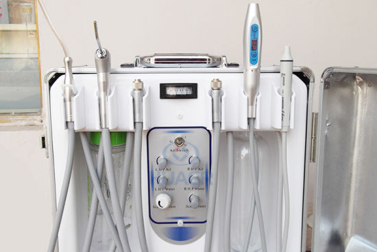 Oral Therapy Mobile Dental Equipment Ce Approved Portable Dental Unit pictures & photos