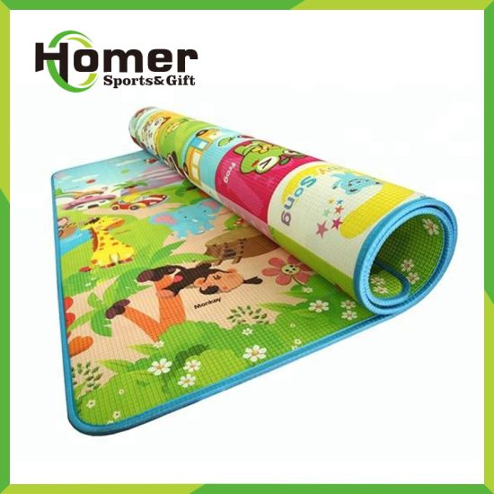Eco-Friendly Non Slip 10mm Thickness Baby Activity Crawling Play Mat pictures & photos