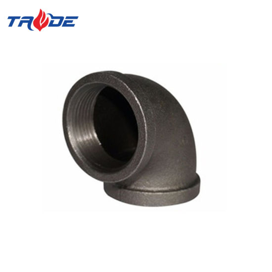 Black Iron Pipe Butt Welded Fittings China Supplier Wholesale 90 Degree Elbow