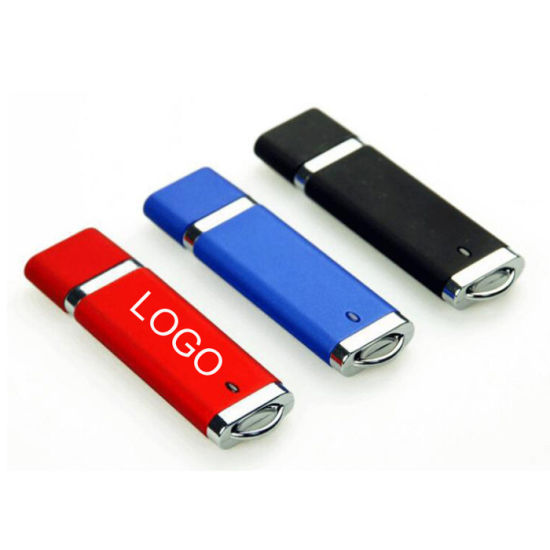 Promotional Customized 8GB USB Flash Drive Disk with Plastic Cap pictures & photos