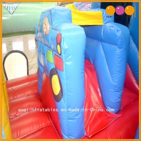 Factory Price Train Inflatable Fun City for Kids Intelligence Devepment (AQ13180) pictures & photos