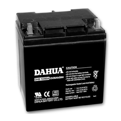 12V 26ah-A Type VRLA Sealed Lead Acid Maintenance Free UPS Battery