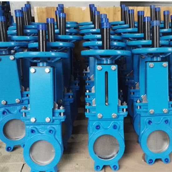 Handwheel 4inch Water Knife Gate Valve Pn10 with Prices