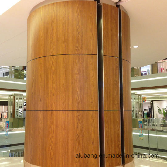 Wood Grain Aluminium Composite Panels (ALB-014) pictures & photos