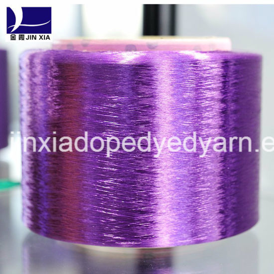 Dope Dyed FDY 40d/24f Polyester Yarn Filament pictures & photos