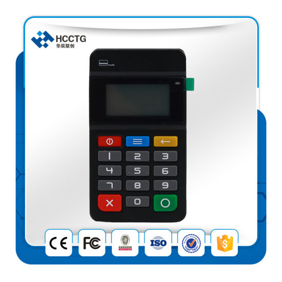 (HTY711) Mobile POS Terminal Machine, Convenient Carrying Credit Card Swipe pictures & photos