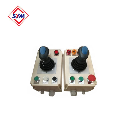 Drivers'control 3 Speed Qt-10 Joystick for Tower Crane Spare Parts