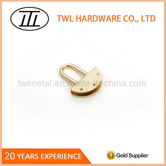 Lock Shape Pendant Alloy Hardware Handbags Decoration Accessory
