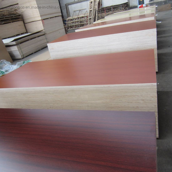 1220*2440*18mm Solid Colors Melamine Plywood Boards for Cabinet Wardrobes Construction