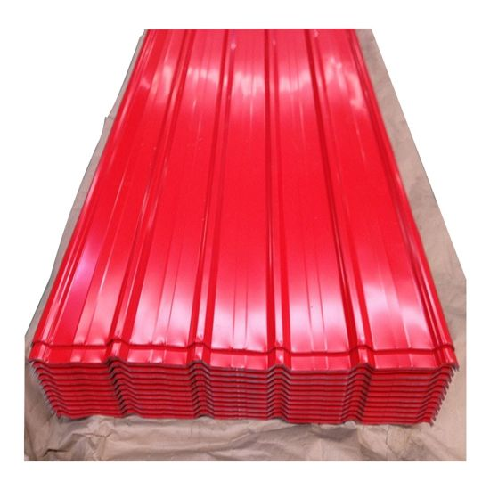 Prepainted Galvanized Corrugated Steel Color Zinc Roofing Sheet