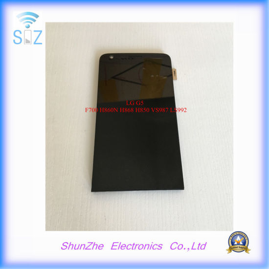 Mobile Smart Cell Phone Touch Screen LCD for LG G5 F700 Vs987 H868 H850