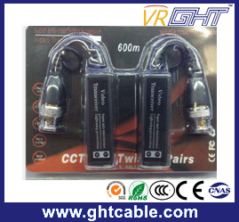 Single Channel Passive Video Balun Twisted Pair Videotransceiver pictures & photos