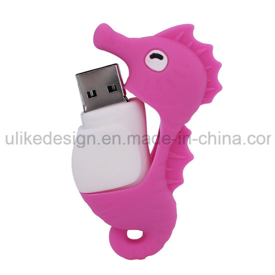 Sea Horse PVC OTG USB Flash Drive (UL-PVC020-01) pictures & photos